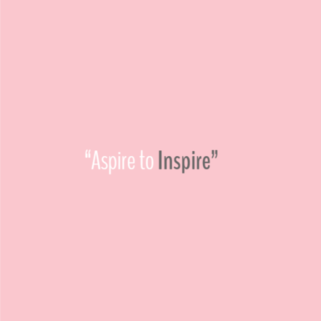 Quote - Aspire to Inspire