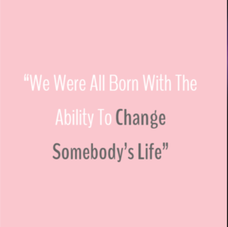 Quote - Change Somebody's Life