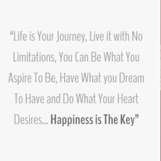 Quote - Happiness is the Key