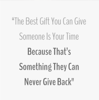 Quote - The Best Gift You Can Give
