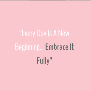 Quote - New Beginning
