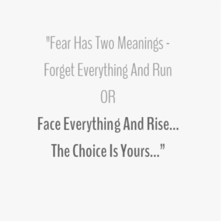 Quote - The choice is yours
