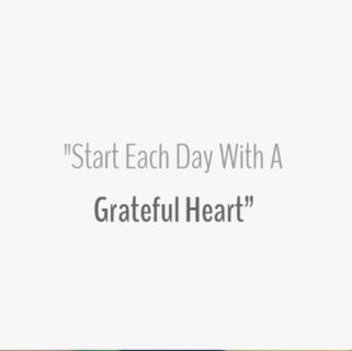 Quote - Grateful Heart