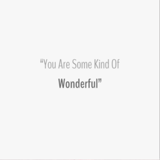 Quote - Some Kind of Wonderful